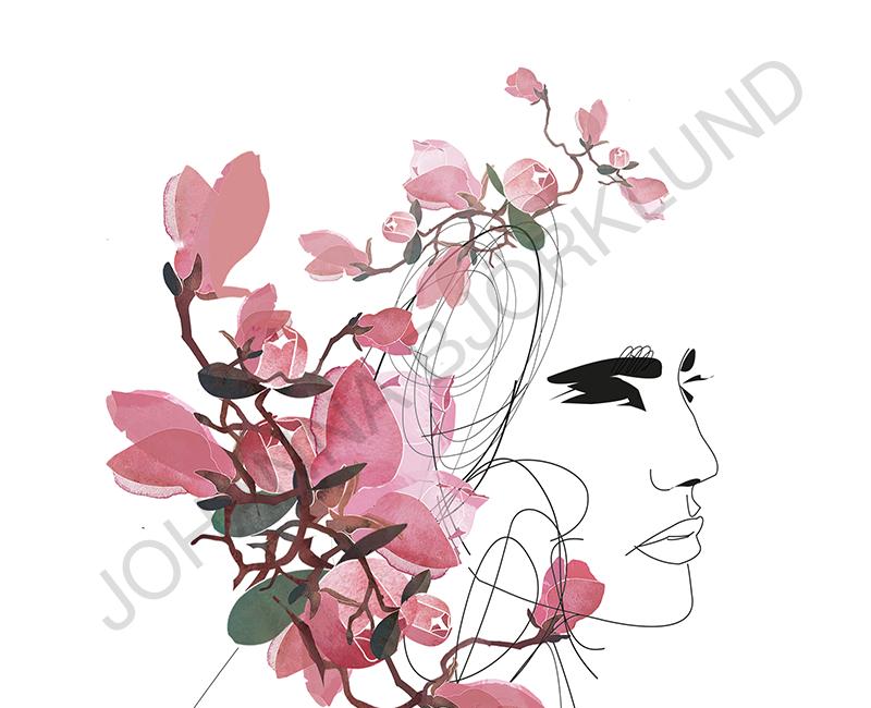 woman_magnolia